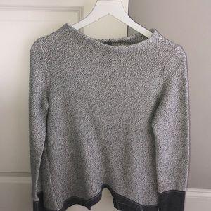 Anthropologie Knit Sweatshirt